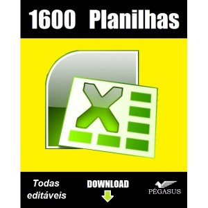 Marketing 1600 planilhas excel