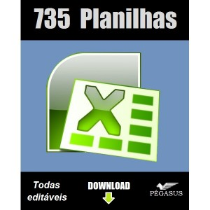 Marketing 735 planilhas excel